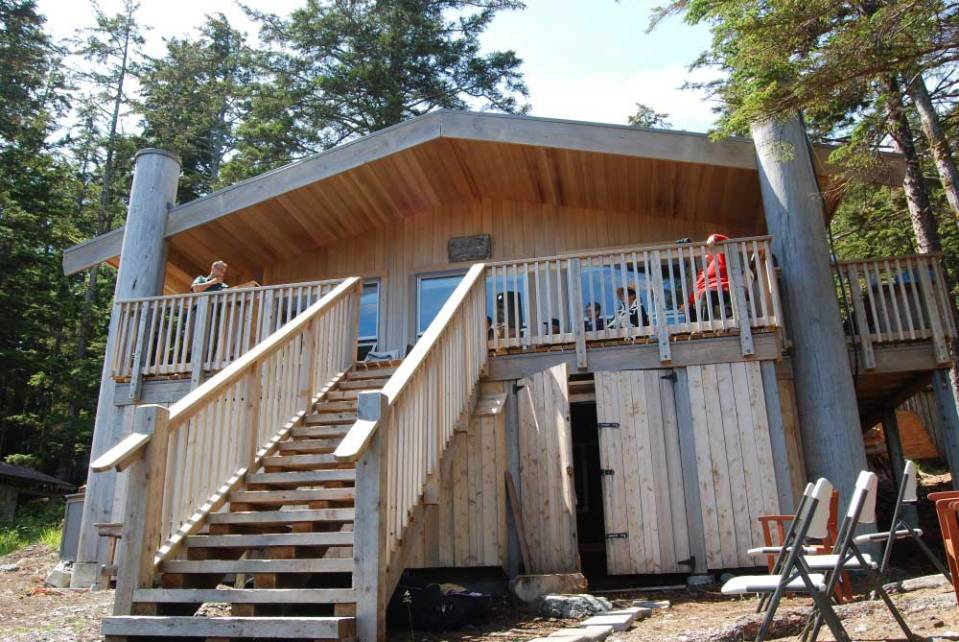 Cabin in Gwaii Haanas